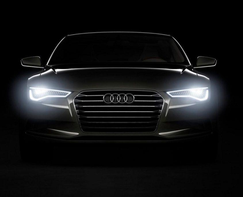 Audi utiliza luces Led en sus modelos